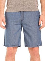 Original Paperbacks Nantucket Chambray Shorts Dark Indigo