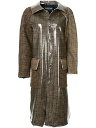 Undercover Buttoned Up Trenchcoat Brown