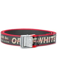 Off White Mini Industrial Belt Grey