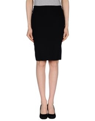 Richmond X Knee Length Skirts Black