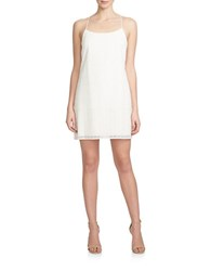1.State Lace Racerback Shift Dress White