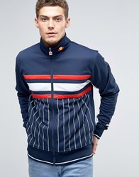 Ellesse Striped Track Jacket Navy