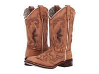 Laredo Spellbound Sanded Tan Cowboy Boots