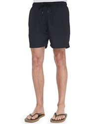 Theory Cosmos Swim Trunks Navy