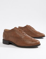 London Rebel Lace Up Brouges Tan
