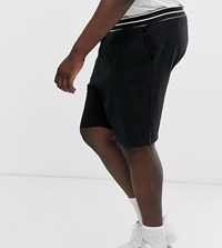 Only And Sons Jersey Shorts In Black