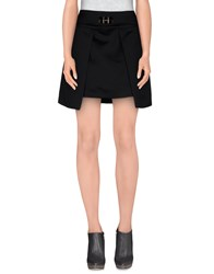 Elisabetta Franchi Gold Skirts Mini Skirts Women Black