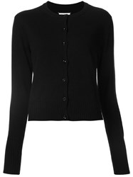 Maison Martin Margiela Classic Long Sleeve Cardigan Black