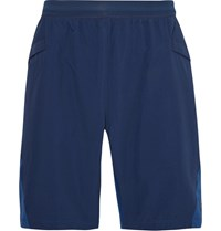 Adidas Sport R.E.P. Out Tough Panelled Climalite And Cordura Shorts Storm Blue