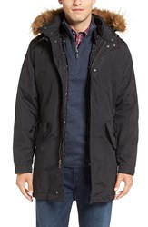 Cole Haan Men's 3 In 1 Anorak With Removable Liner And Faux Fur Hood