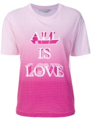 Stella Mccartney All Is Love Printed T Shirt White