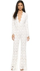 Stone Cold Fox Saint Jumpsuit White