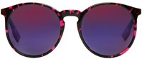Mcq By Alexander Mcqueen Pink Round Sunglasses