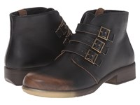 Naot Footwear Calima Volcanic Brown Leather Women's Boots Black