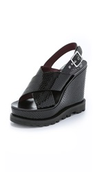 Marc By Marc Jacobs Irving Wedges Black
