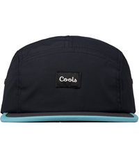 Barney Cools Navy Red Aqua Five O Strapback Cap