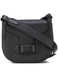 Michael Kors Small 'Daria' Saddle Bag Black