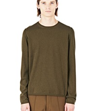 Marni Crew Neck Sweater Khaki