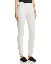 Eileen Fisher Petites Skinny Jeans In Bone