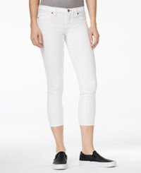 Dittos Taylor Low Rise Cropped White Wash Jeggings