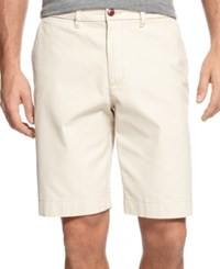 Tommy Hilfiger Men's Big And Tall Chino Shorts Sand Khaki