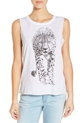 Women's Chaser Cheetah Graphic Muscle Tank