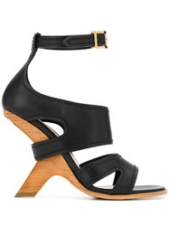 Alexander Mcqueen No. 13 Sandals Black