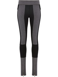 Paco Rabanne Two Color Legging Grey