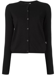 Love Moschino Embellished Back Cardigan Black