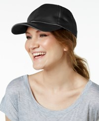 Collection Xiix Satin Baseball Cap Black
