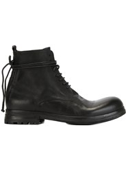 Marsell Marsa Ll Ankle Tie Boots Black
