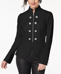 Xoxo Juniors' Embellished Blazer Caviar