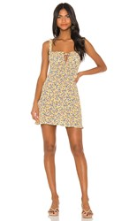 Beach Riot Olivia Dress In Yellow.