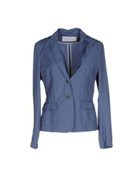 Fabiana Filippi Suits And Jackets Blazers Women Slate Blue