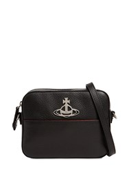 Vivienne Westwood Rachel Grained Leather Camera Bag Black