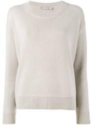 Vince Crew Neck Sweater Nude And Neutrals