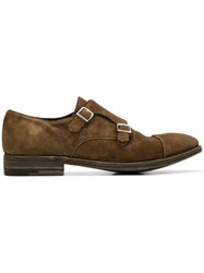 Premiata Double Monk Shoes Brown
