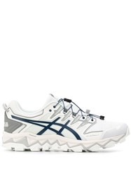 Asics 1021A257suedeblue Blue Furs And Skins Leather 60