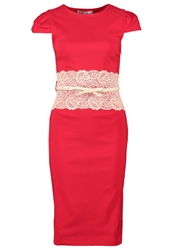 Paper Dolls Cocktail Dress Party Dress Tomato Red