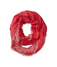 Bcbgmaxazria Reversible Loop Scarf Red Lacquer Scarves