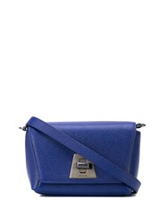 Akris Anouk Crossbody Bag Blue