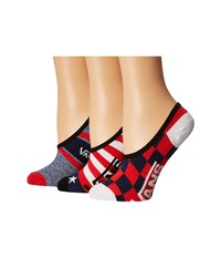 Vans Polling Place Canoodles 3 Pack Tomato Women's Crew Cut Socks Shoes Red