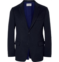 Tomorrowland Midnight Blue Slim Fit Wool Blazer