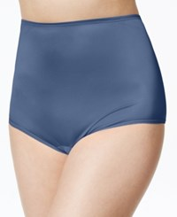 Vanity Fair Perfectly Yours Ravissant Nylon Brief 15712 Blue Zephyr