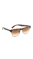 Ray Ban Oversized Clubmaster Sunglasses Havana Crystal Brown Gradient