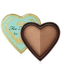 Too Faced Sweethearts Baked Luminous Glow Bronzer No Color