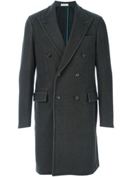 Boglioli Double Breasted Coat Grey