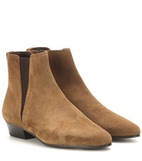 Isabel Marant Etoile Ralf Suede Ankle Boots Brown