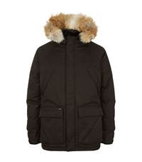 Nobis The Heritage Fur Trimmed Parka Coat Male Black