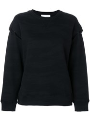 Iro Dropped Shoulder Sweatshirt Black